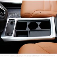 Wholesale Console Decorations - For Honda CRV CR-V 2015 2016 Car Interior Center Consoles Water Cup Pannel Cover Molding Trim ABS Chromed Decoration Car-styling Accessories