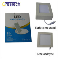 Wholesale super suits for sale - Group buy Round and Square type surface mounted LED panel light suit for kitchen room bed room hall high brightness and super thin housing