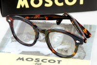 Wholesale High Quality Fashion Optical Frames - ESNBIE High Quality Johnny Depp Glass Eyewear Frames Men Vintage Round Frame Glasses Mens Retro Optical Frame Rx