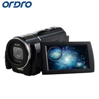 Wholesale photo cmos for sale - Ordro HDV F5 quot P Full HD X Zooms Reflex Digital Cameras Professional Video Recorder w CMOS Lens MP Photo Camera