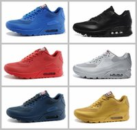 Wholesale Mesh Flag - 2017 Air 90 HYP PRM QS Mens Womens Running Shoes 90s American Flag Sport Trainers Sneakers 5.5-12