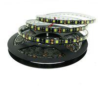 tira de led flexible negro al por mayor-Nuevo llega Negro PCB LED Strip 5050 IP20 no impermeable IP65 Impermeable DC12V 60LED / m 5m rollo Flexible tira de luz LED