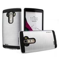 lg g3 handy fällen großhandel-Günstige LG Fällen für K7 K8 K10 Handy Fällen hart TPU PU Stoßfest Handy-Cover für LG G3 G4 G5 Fällen