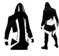 Wholesale Factory Direct Breasts - Hot Sale Custom handmade Fashion Assassins Creed 3 III Connor Kenway Hoodies Costumes Jackets Coat 10 colors choose direct from factory