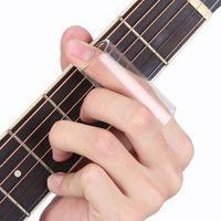 Wholesale Knuckle Electric - Wholesale- New Plexiglass Slider Electric Guitar String Slide Glass Tube Finger Knuckle 22*60mm