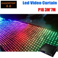 Wholesale mode video for sale - Pitch To Choose M M LED Star Curtain Off Line Mode LED Video Curtain For DJ Wedding Backdrops