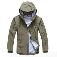 Wholesale Hard Shell Jacket - Waterproof Windproof Sports Warm Jackets TOP Quality Coat Tactical Gear Outdoor thin Hard shell Jacket Spring summer
