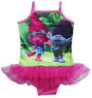 Wholesale Child Bikinis For Sale - 2017new hot sale fairy baby children swimming bikini chest lace & sweet piece of a skirt for the girl