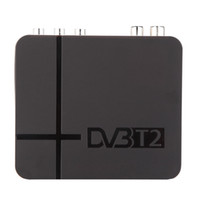 Wholesale Dvb T Usb Tv Box - K2 HD DVB-T2 Digital Terrestrial Receiver Set-top Box with Multimedia Player H.264 MPEG-2 4 Compatible with DVB-T for TV HDTV