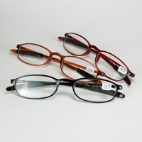 Wholesale Good Strength - 2018 New Good Quality Slim Frame Presbyopia Reading Glasses Springy Plastic Material And Antiskid Legs Eyewear For Older People
