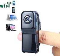 Wholesale Full Hd Video Size - Wholesale-FREE SHIPPING Mini Pocket Size Wifi P2P DV Digital Video Camera Camcorder Cam data Recorder