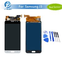 Wholesale Galaxy Screen Assembly - NL TFT LCD For Samsung J3 J320 2016 LCD Dispaly Touch Screen Assembly With Digitizer Repair Replacement With Tools+ Free Shipping