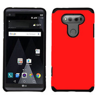 Wholesale Dual Slim Mobile Phone - Phone Cases For LG V20 Case TPU+PC Slim Hybrid Dual Layer ShockProof Armor Defender Cover Case For LG V20 Mobile Phone Case Hot Sale Product