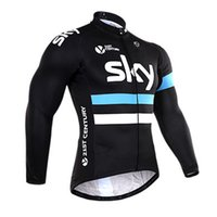 Wholesale Sky Tour France Jersey - 2017 Tour De France Sky Team Cycling Jerseys Quick Dry Bike Wear cycling jersey Short sleeve tights + bib pants cycling skinsuit