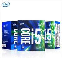 Intel processore CPU 7Gen Core I5 ​​processore 14nm LGA1151 7600K 7600 7500 7400 4 Core 4 thread 6MB Cache Dual Channel DDR4 2133/2400