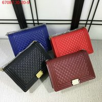 Wholesale New Fashion Women Mummy Bag Boy Bag Caviar Handbags Designer Shoulder Bag