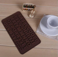 Fondant Letter Silicone Chocolate Cake Mold Cake Tools Cookie Cutter Fondant Cake Décoration Outils TOP1749