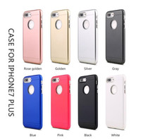 Wholesale Uv Resistant Paint - Frosted hybrid armor UV Painting Anti-Knock Protective Cover Case For Iphone 6 6s 7 Plus 4.7 5.5inch