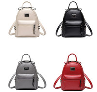 Wholesale 2017 New Fashion Women PU Leather Backpacks Travel Rucksack Handbags School Bag High Quality
