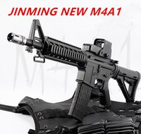 Wholesale Fantasy Models - JINGMING new M4A1 gel ball blaster gun toy rifle electric shooter ball bullet gun cs weapon outdoor toy