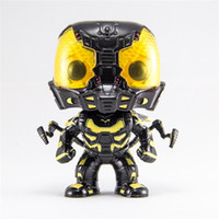 POPOToyFirm Vente en gros FUNKO POP 86 # Ant Man PVC Anime Figure Action Figure Yellow Vinyl Bobble Head