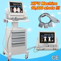Wholesale Face Pulls - HIFU wrinkle removal face lift machine High intensity focused ultrasound salon use hifu pull cheek skin portable machine
