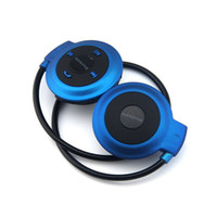 auriculares mini inalámbrico móvil al por mayor-Mini 503 Sport Bluetooth Auriculares inalámbricos Música Estéreo Auriculares + Ranura para tarjeta Micro SD + Radio FM + Micrófono universal para móvil