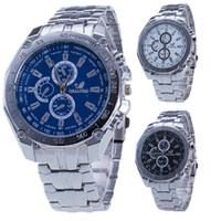 Wholesale Orlando Wristwatch - ORLANDO Men's Business Watch Fashion Man Wrist Watches Stainless Steel Wristwatch Luxury 3 Eyes Decoration Watch Quartz Movement Watch