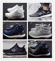 Ultra Boost 2.0 Triple branco preto UltraBoost Running Shoes sneakers Adulto e crianças Athletic respirável Sports Shoes barato online venda