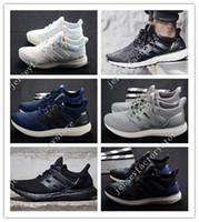 Wholesale Cheap Adult Shoes - Ultra Boost 2.0 Triple white black UltraBoost Running Shoes sneakers Adult And Kids Athletic breathable Sports Shoes cheap online for sale