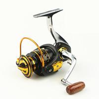 Wholesale Bait Runner Reels - High Quality Smooth Metal Spinning Fishing Reel 1000-7000 Series 13BB Carp Fishing Reel Bait Runner Fishing Wheel