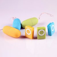 Wholesale Vibrating Egg For Panties - 20 Speeds MP3 Wireless Remote Control Vibrating Egg Bullets Vibrator Products Adult Sex Toys For Woman Remote Dildo Women Clitoris G Spot