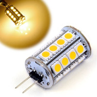 Wholesale G4 Led Tower - High Quqlity Energy Saving G4 LED Spotlight Blub 30 LED 5050-SMD Tower Type Spot Light Car Marine Boat Bulb Lamp Halogen Bulb Replacement