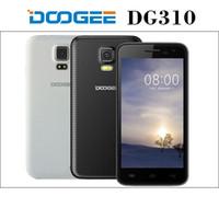 Wholesale Dual Sim 1g Ram - Doogee DG310 5.0 inch Quad Core Phone 1G RAM 8G ROM 13.0MP Camera 3G Unlocked Cell Phones