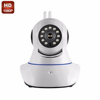 Wholesale Indoor Wifi Antennas - Security Cameras Double antenna Camera wireless IP camera WIFI Megapixel 1080P HD indoor Wireless Digital Security CCTV IP Cam IR