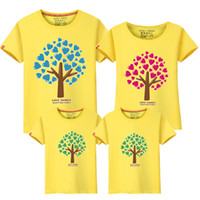 Baby Kinder Kleidung Familie Matching Outfits 2017 Sommer Tops plus Größe Daddy Mutter und Tochter Kleidung Familie Kleidung Set T-Shirts # LD10002