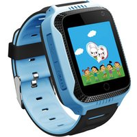 Smart Watches для детей Девочки Мальчики Wifi Gps Tracker Навигация Bluetooth Kids Smartwatch Phone для IOS Android