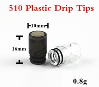 Wholesale Ego Puffs - EGO AIO spiral 510 Plastic Drip Tip for EGO Atomizer Mouthpiece 510 Wide Bore Atomizer mouthpiece for e cig vape tank VS 2 Puffs drip tips