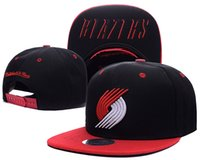 Unisex blazers hats - Newest Portland Adjustable Trail Blazers Damian Lillard Snapbacks Cap Baseball Caps hip hop Hats