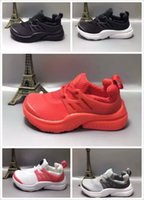 Wholesale B 24 - Kids Athletic Air Presto Running Shoes Little Baby Boys Girls Student Run Sneaker 24-35 With Box