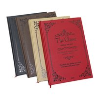 Wholesale Vintage Book Ends - Notebook A5 retro hard noodle notebook stationery high-end business book