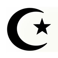Wholesale Star Colors Glue - Devout Muslims Religion Moon and Star Flag Car Sticker for Bumper Motorcycle Laptop Car Styling Waterproof Vinyl Decal 10 Colors JDM