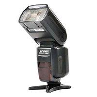 Wholesale Dsrl Camera - ZM-580T Auto Focus TTL High Sync Speed Flash Speedlite Speedligt Flash with Radio Slave for Nikon DSRL Cameras