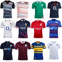 Wholesale 2017 new arrived in New Zealand rugby shirt England Ireland Scotland hot sale high quality football shirt