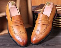 ot tide - ot pointed summer shoes British tide shoes for men business casual shoes size
