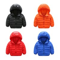 Wholesale Boys Sport Coat Size - 2017 new authentic baby girl and boy sports style jacket children winter jacket style size 3-6 year old children's thin coat