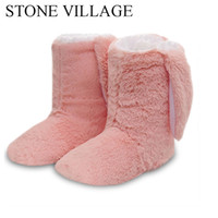 Wholesale warm slippers for women - New Winter Plush Slippers Women Home Slippers Fashion Warm Shoes Women Autumn Slippers Home Shoes For Home Shoes Hot Sale