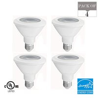 Led Energy Star online - PAR30 LED Light Bulb 13W 75W Equiv 4100K Bright White 750Lm E26 Base Energy Star UL Listed LED Spotlight 3 YEARS WARRANTY