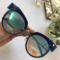 Wholesale m luxury case for sale - Group buy M J Luxury Fashion Sunglasses Women Brand Designer Popular Sunglasses Charming Cat Eye Frame UV Protection Mixed Color Come With Case