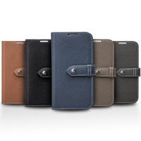 Wholesale Cases For Galaxy Note3 - 5196-109 litchi pattern leather case for Samsung Galaxy Note3,card holder flip cover for galaxy note3 with clip